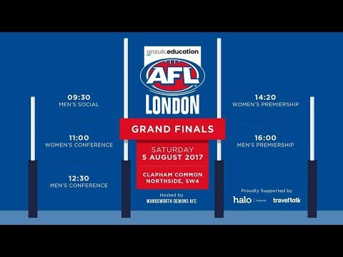 2017 AFL London Women's Premiership Grand Final - Wandsworth Demons v South East London Giants