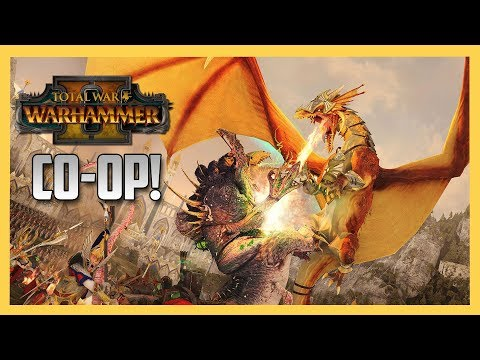 Co-Op conquering in Total War: Warhammer 2!