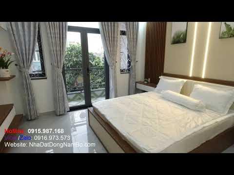 Video nhà bán quận Tân Bình mới xây cực đẹp, 4x16m, hẻm xe hơi Phan Huy Ích phường 15 Tân Bình