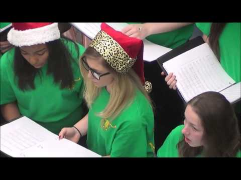 Wood Intermediate Choir December 2015