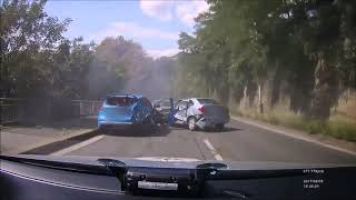 Подборка аварий на видеорегистратор лето 2017