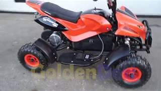 видео Детский электроквадроцикл SHERHAN - 300 LITE