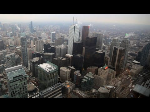 Toronto's Bay Street Corridor- Above And Below Ground
