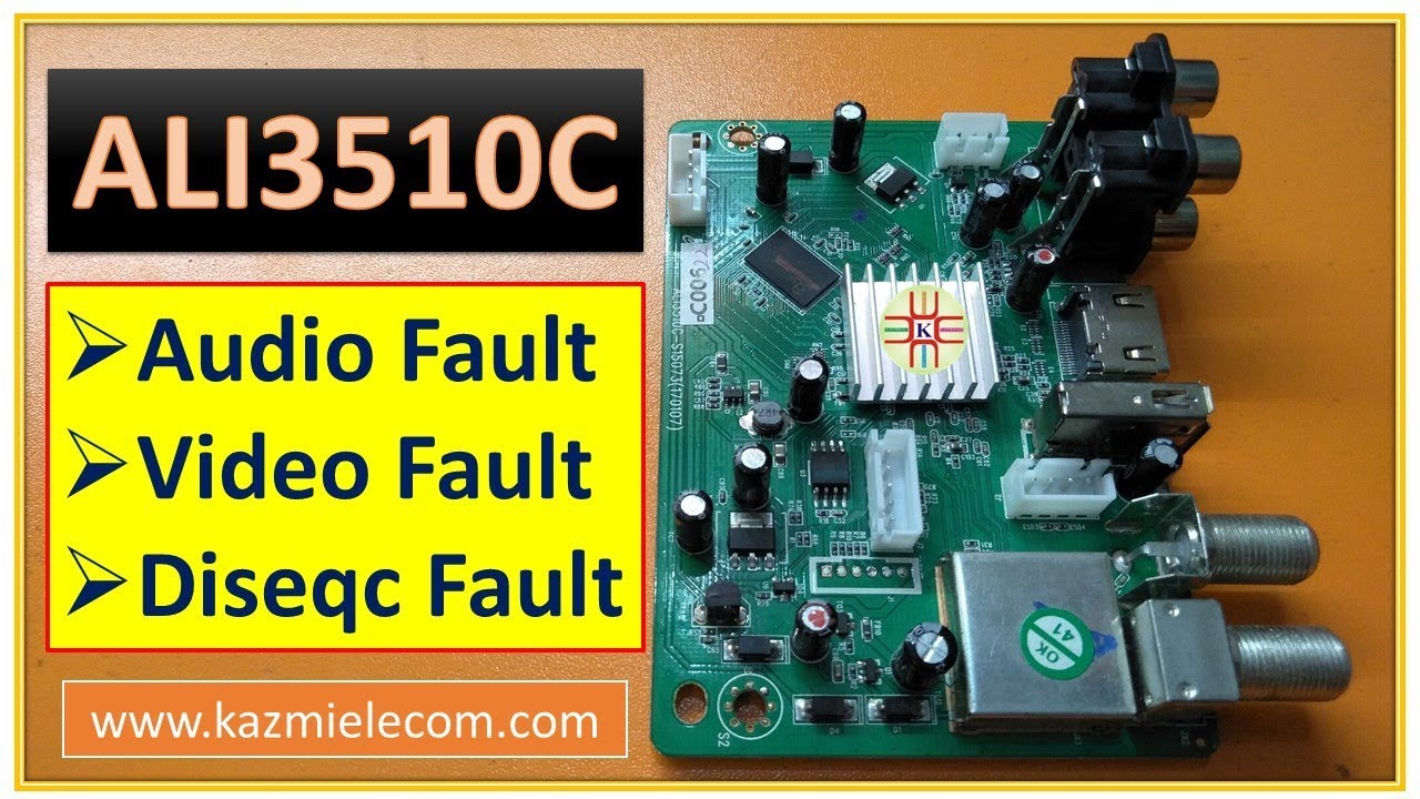ALI3510C HD Receiver Audio, Video and Diseqc Switch Fault