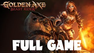 Golden Axe: Beast Rider Full Walkthrough Gameplay Part 1 Longplay - No Commentary (PS3)