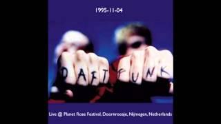 Daft Punk Live @ Planet Rose Festival, Doornroosje, Nijmegen, Netherlands (11-04-95)