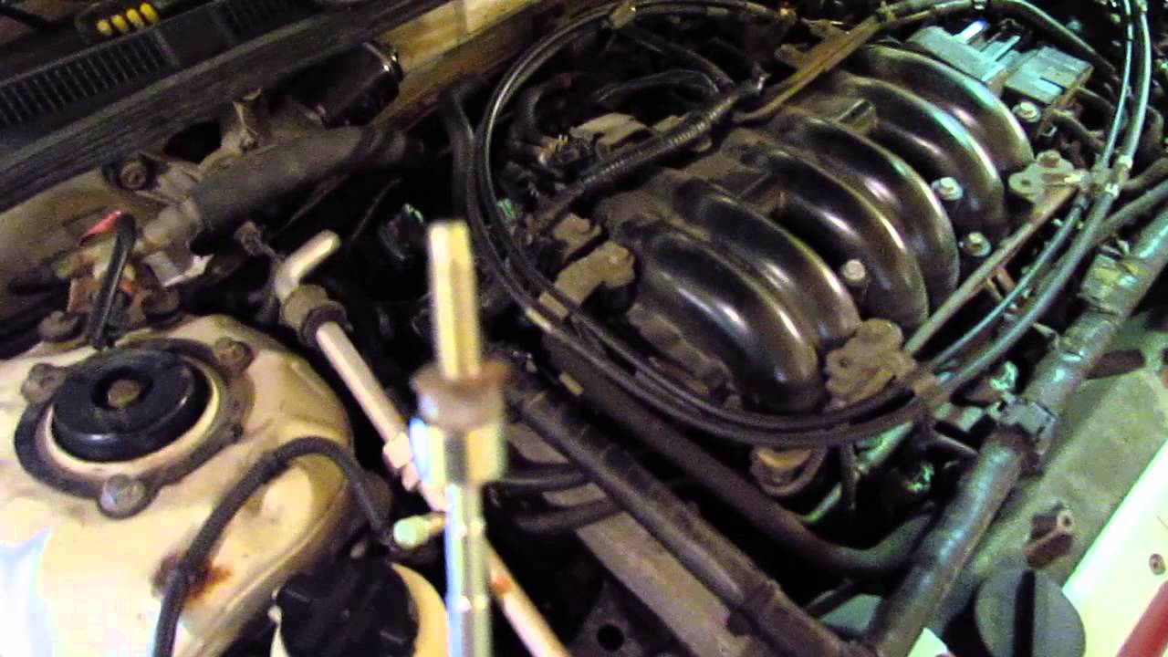 2000 Nissan Maxima Se Tips For Changing Front Rear Spark Plugs Twin Cam Engine Diagram 2 4 Timing Chain Vq30de Youtube