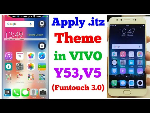 Y53,Y55,V5 - Apply  itz Themes in Funtouch 3 0 (No Root)
