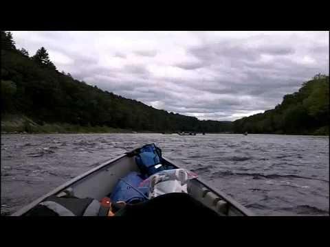 Solo Canoe Trip - Delaware Water Gap