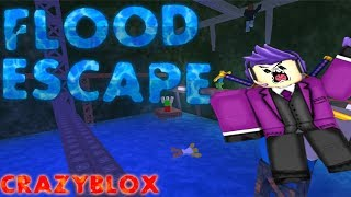 RAGE !!!!! Flood Escape | Roblox Adventures