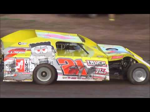 Salina Speedway IMCA Modified *Hot Laps* 8-4-17