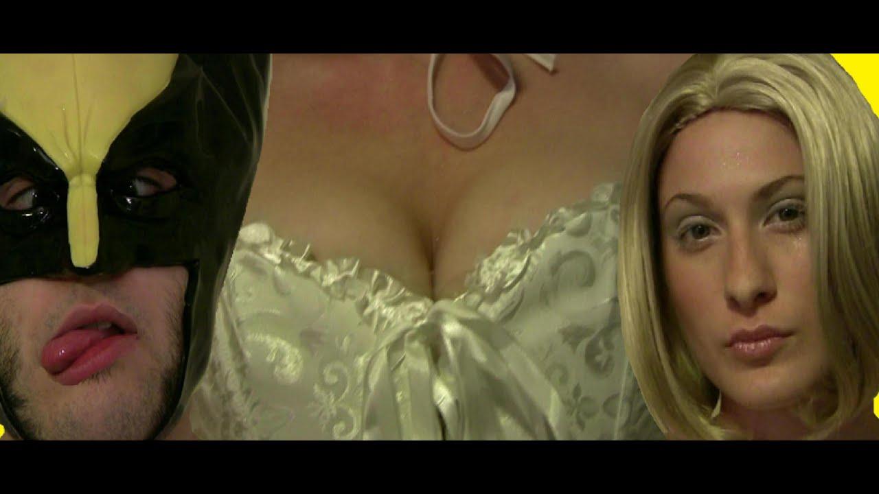Big boob naked x men