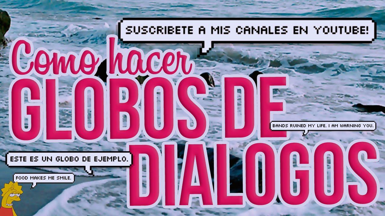 """Pagina Para Crear """"Globos De Diálogos"""""""