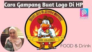Cara Buat Logo Resto Gampang Banget Di Hp Android Logo Restaurant Keren Pake Pics art