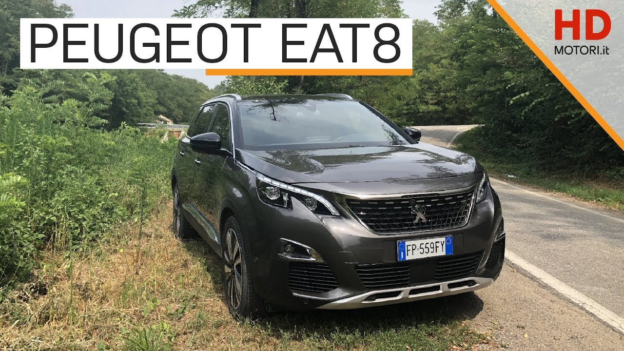 peugeot 3008 e 5008 debutta il cambio automatico eat8 intervista youtube. Black Bedroom Furniture Sets. Home Design Ideas