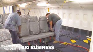 How Airplane Interiors Are Designed | Big Business