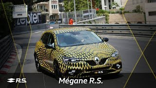 New Megane R.S. on #MonacoGP track with N. Hulkenberg