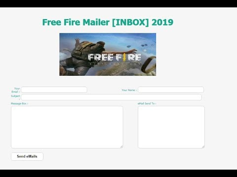 Priv8 Mailer inbox 2019 FOR SPAMMING ( FREE FIRE MAILER ALL INBOX)