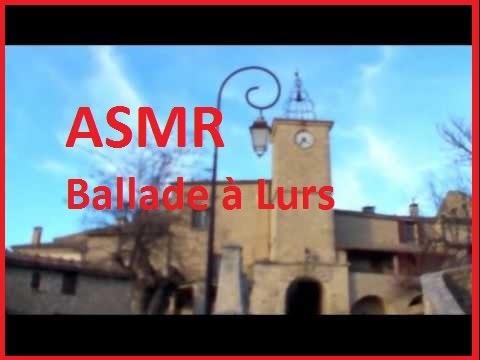 ASMR - Ballade à Lurs