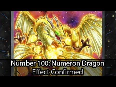 Number 100  Numeron Dragon Anime Effect Confirmed - YouTube