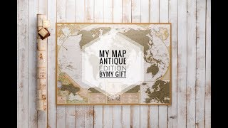 My Map Antique edition by My Gift