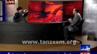 (4/4) Waqt News Interview with Dr Israr Ahmed