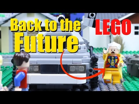 Back to the Future Part II in LEGO