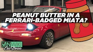 Cops don't understand Peanut Butter or Ferrari-badged Miatas