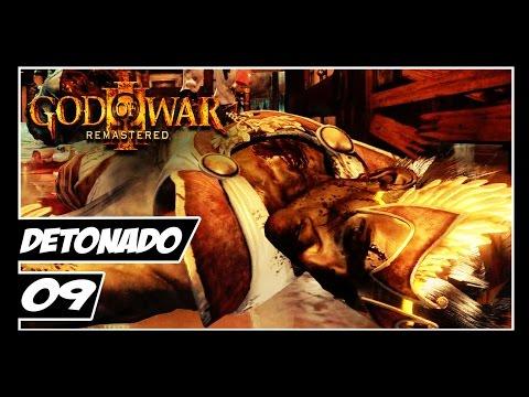 GOD OF WAR 3 REMASTERED - Detonado #9 - A MORTE DE HERMES!!!