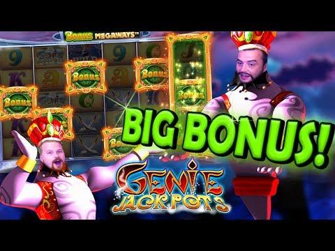 Big win in Genie Jackpots Megaways 😎