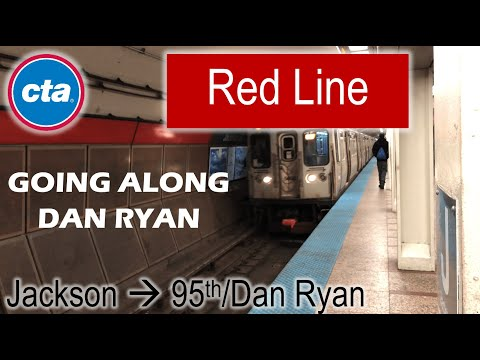 Let's Ride the Rail - CTA Red Line from Jackson to 95th/Dan