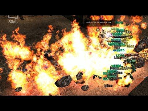 "[Mu Season 12] ""HACK SPEED"" RAGE FIGHTER build/Turn Deep Dungeon 4 to flame ground"