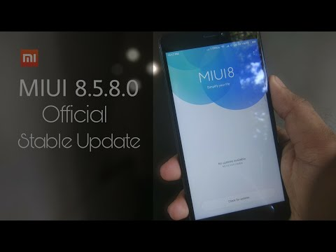 MIUI 8.5.8.0 Official stable Update | bugs fixed | Redmi note 4 |🔥🔥