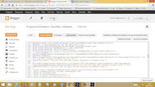 Blogs - Cambiar ancho de las entradas en plantilla externa  a Blogger