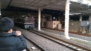 E995系 スマート電池くん 廃車回送 立川駅発車