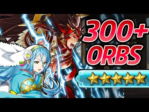 Fire Emblem Heroes - 300+ Orbs Summons + GIVEAWAY!: Ryoma's Legendary Hero Summon Banner