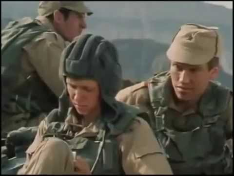 Soviets fighting in Afghanistan