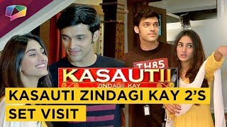 Kasauti Zindagi Kay 2's Set Visit | Prerna Shows Her House To Anurag | Star Plus