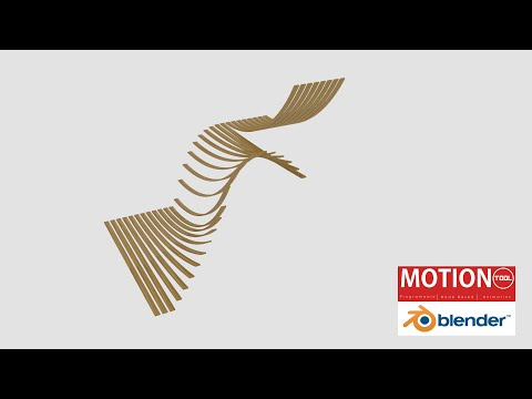 Blender MotionTool Primer - Falling Planks Animation