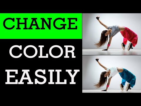 How to change any color in Photoshop (Photoshop tutorial) thumbnail