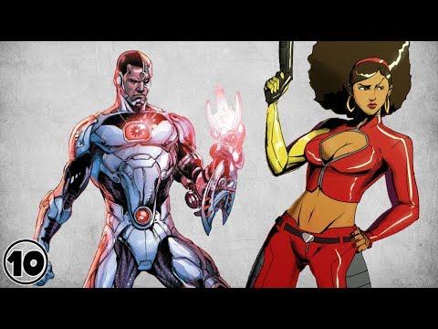 Top 10 Black Superheroes -  Part 2