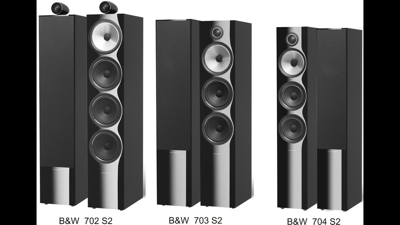Bowers And Wilkins Speakers >> B&W Bowers & Wilkins 702 S2,B&W Bowers & Wilkins 703 S2,B&W Bowers & Wilkins 704 S2 - YouTube