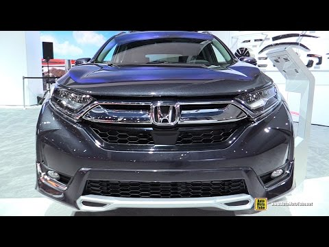 2017 Honda CRV Touring - Exterior and Interior Walkaround - 2016 LA Auto Show
