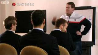 Smithy Takes On The England Football Team - Red Nose Day 2009 - Comic Relief  - BBC