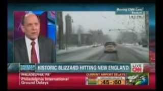 "Louis Uccellini speaks about nor'easter on CNN's ""Situation Room"""