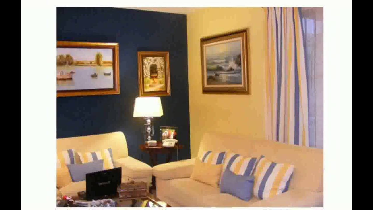 Como pintar la habitacion de dos colores youtube for Como pintar mi cuarto