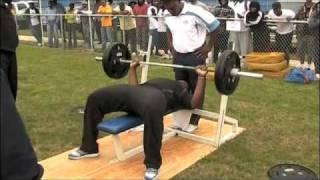 2011 NFL Draft Prospect Jordan Miller - DL - Bench Press