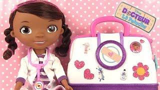 Docteur la Peluche Jouets Nouvelle Mallette du docteur et accessoires
