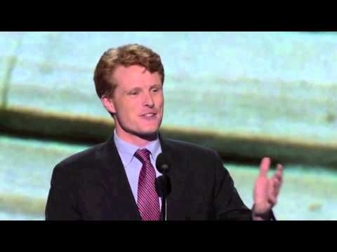 Democratic National Convention Joseph P  Kennedy III speaks