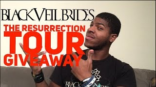 Black Veil Brides The Resurrection Tour Giveaway